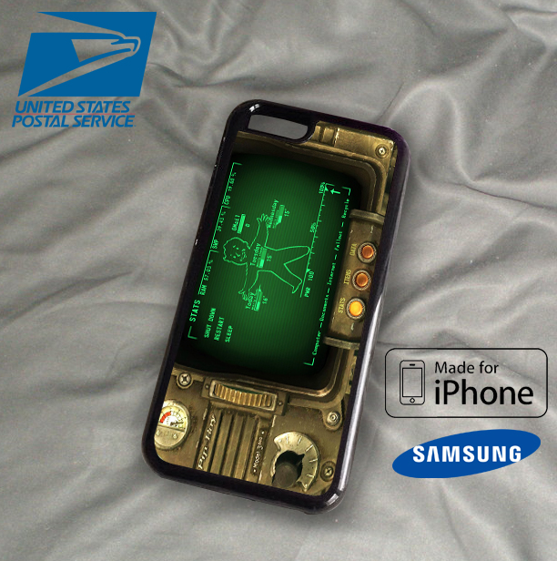fallout pipboy rainmeter case for iphone 4 iphone 5 iphone 5c